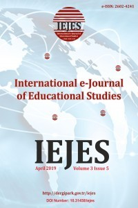 International e-Journal of Educational Studies