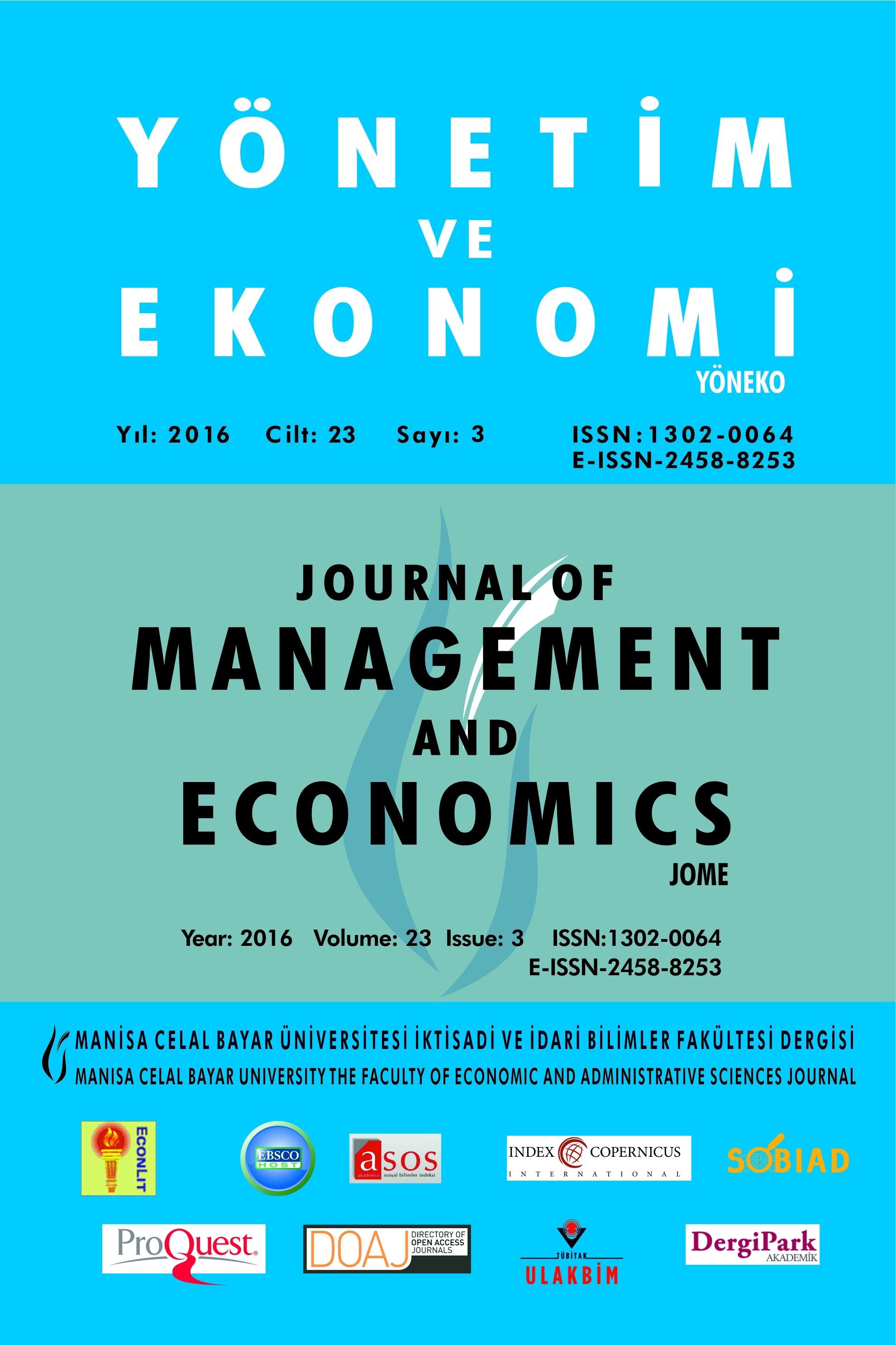 Ekonomi Araştırmaları Yöntemleri